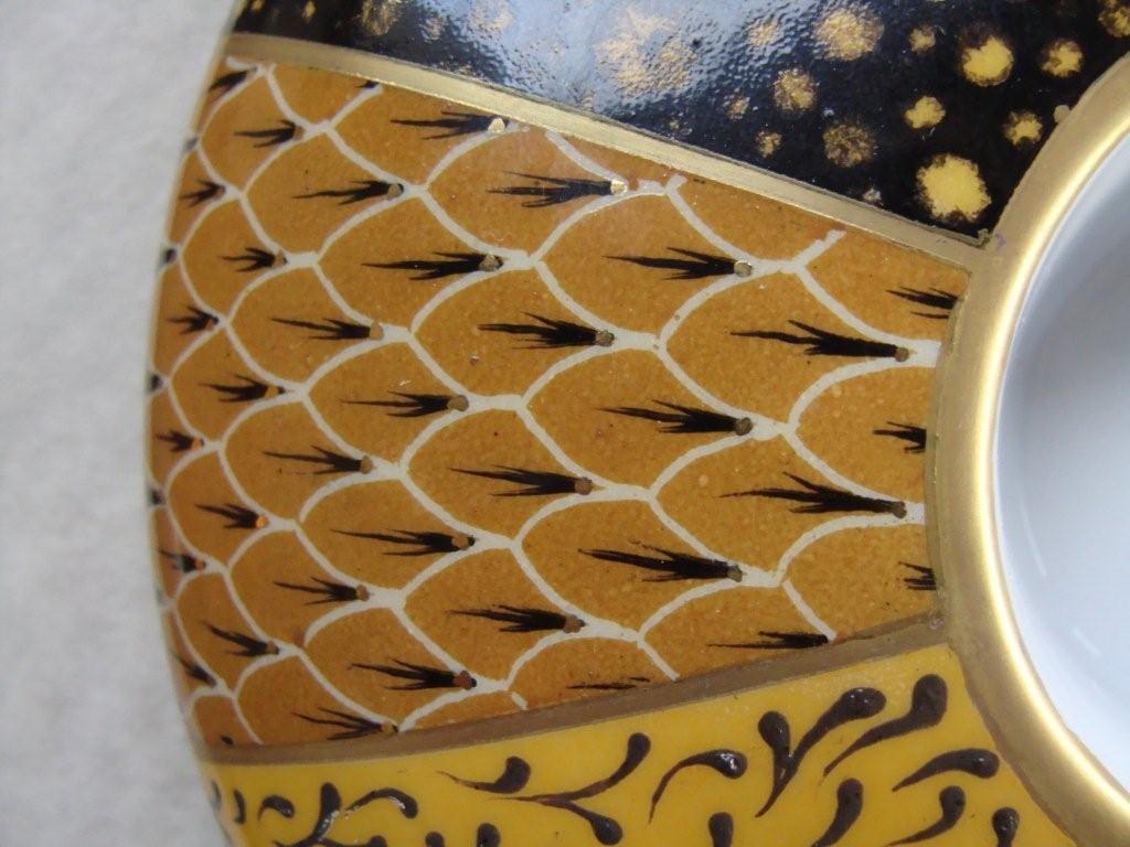 Motif en forme d ecailles dany et la peinture sur porcelaine for Motif peinture