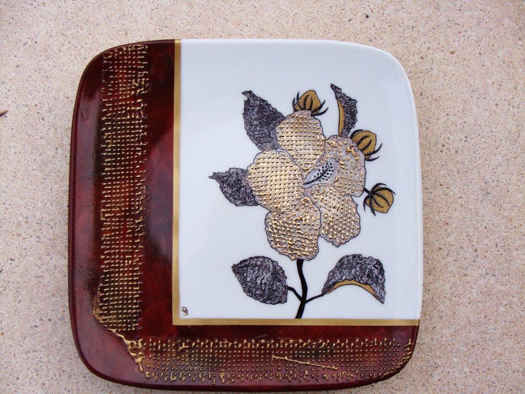fibre de verre · dany et la peinture sur porcelaine - Comment Peindre De La Fibre De Verre