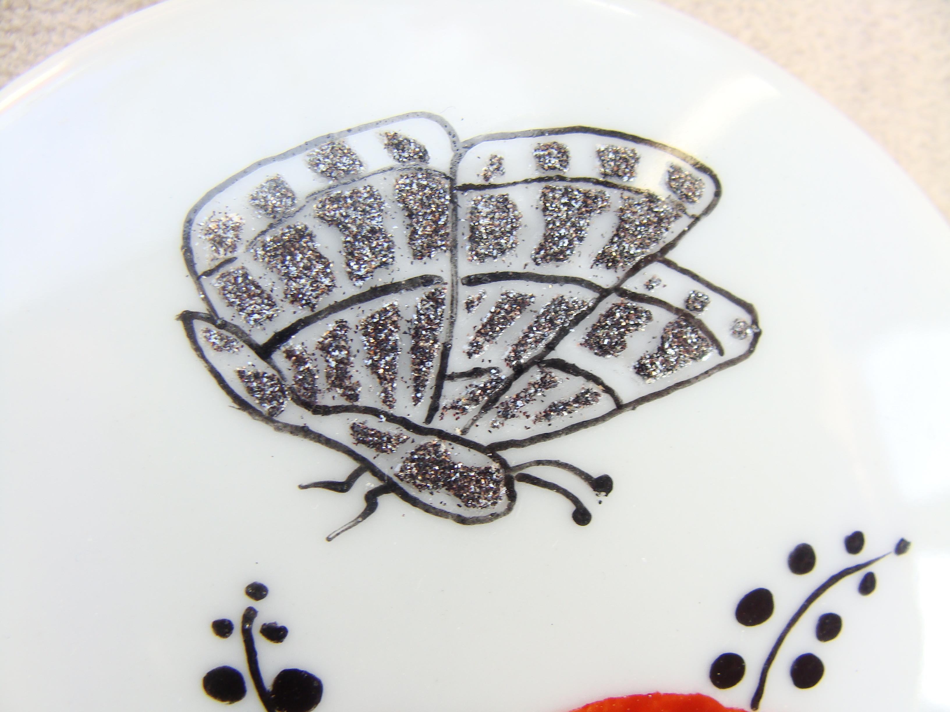Sables Metalliques Dany Et La Peinture Sur Porcelaine